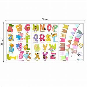 removable letter alphabet waterproof pvc diy wall sticker With door letters for children s rooms