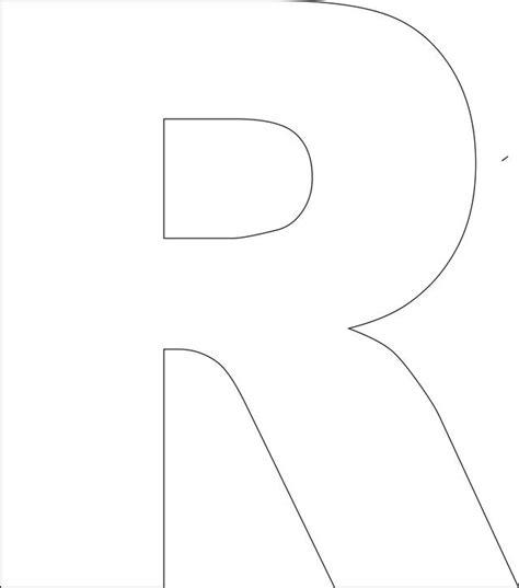 printable upper case alphabet template preschool