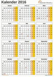 Jahreskalender 2019 A4 : excel kalender 2016 kostenlos ~ Kayakingforconservation.com Haus und Dekorationen