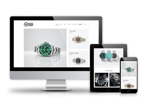 Ecommerce, website Templates