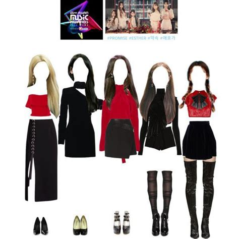 promise performing mama kpop fashion outfits