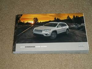 2019 Jeep Cherokee Owner U0026 39 S Operator Manual User Guide