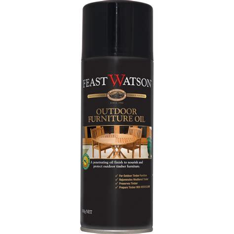feast watson teak outdoor furniture oil spray