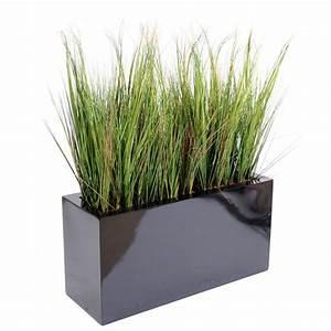 Jardiniere Interieur : onion grass artificiel en jardiniere 100 cm gramin es ~ Melissatoandfro.com Idées de Décoration