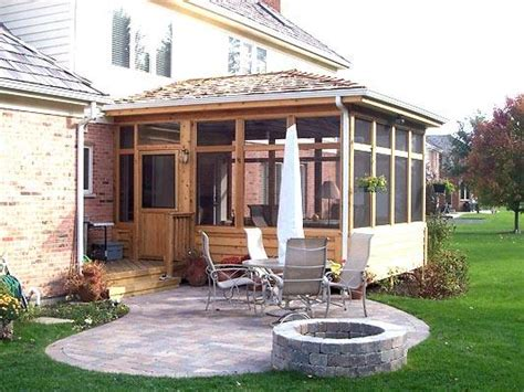 screen porch paver patio in hawthorn woods il