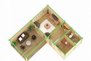 Gartenhaus 4 X 3 : gartenhaus mit sauna a 22m2 70mm 3x7 hansagarten24 ~ Orissabook.com Haus und Dekorationen