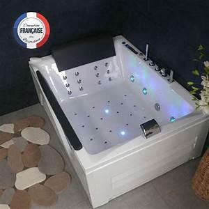 Baignoire Pour Deux : baignoire balneo rectangulaire pour deux d cayenne ~ Premium-room.com Idées de Décoration
