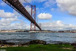 Fluss In Portugal : hintergrundbilder lissabon br cke landschaft fluss wasser portugal himmel ufer stadt ~ Frokenaadalensverden.com Haus und Dekorationen