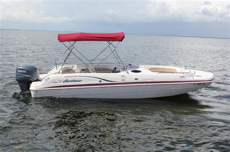 23 Foot Hurricane Deck Boat Gs 232 by 2003 Hurricane 232gs Deck Sold