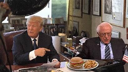 Gifs Funny Trump Funniest Bernie Sanders Donald