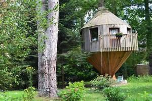 cabane dans les arbres arbonne la foret seine et marne With chambre d hote cabane dans les arbres