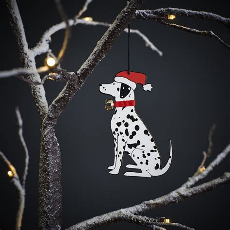 dalmatian dog christmas tree decoration