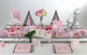 Tischdeko Schwarz Weiß Ideen : taufe rosafarben erstrahlt der tisch tafeldeko ~ Bigdaddyawards.com Haus und Dekorationen