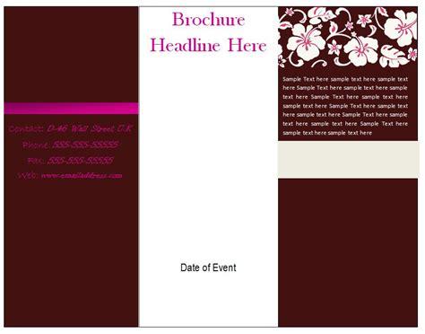 Free Printable Tri Fold Brochure Templates Vastuuonminun Free Printable Tri Fold Brochure Templates Vastuuonminun