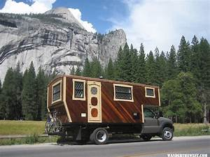 Handmade Truck Camper With A Yacht-Like Interior
