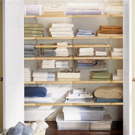 Linen Closet Shelving Systems by Elfa Closet System Birch White Linen Closet The