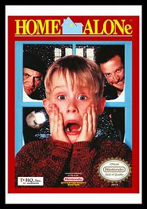 NES – Home Alone | Retro Game Cases