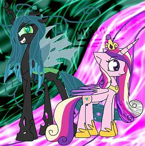Princess Cadence And Queen Chrysalis This Day Aria   www ...
