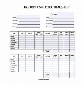 18 hourly timesheet templates free sample example With hourly employee timesheet template