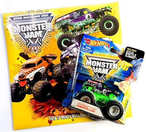 buy  hot wheels monster jam bone shaker die cast metal