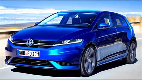 New Volkswagen Golf 8 2019 Youtube