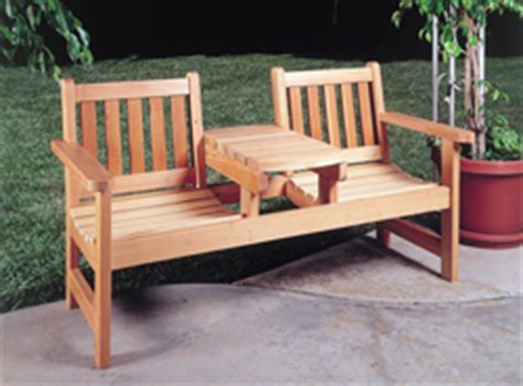 wood patio furniture plans   build  easy diy