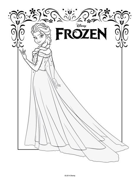 disegni da colorare  frozen da stampare gratiselsa