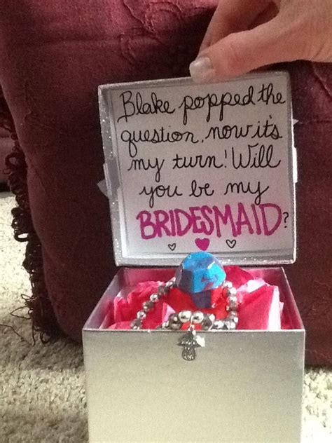 ideas  ring pop bridesmaid  pinterest