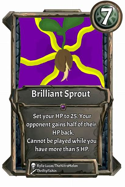 Card Sprout Brilliant Week Comment