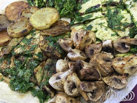cuisine mar moutabbal grill mar mikhael the grilled vegetable platter