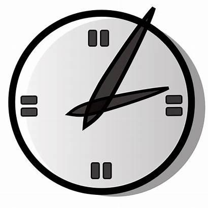 Clock Analog Clip Onlinelabels Svg