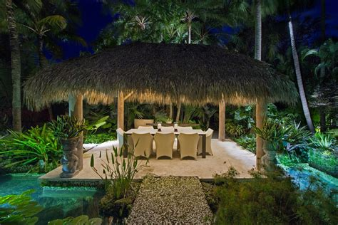 beautiful quonset hut homes  miami tropical patio