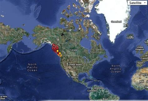 tsunami warning  effect  british columbia