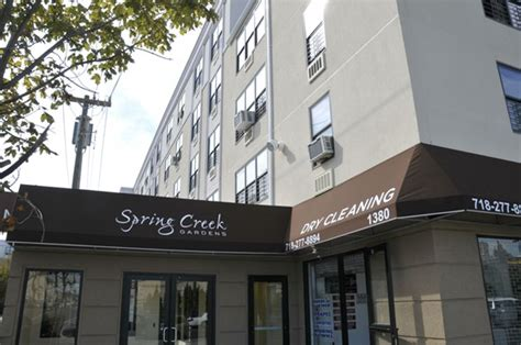 spring creek gardens apartments  drew street brooklyn