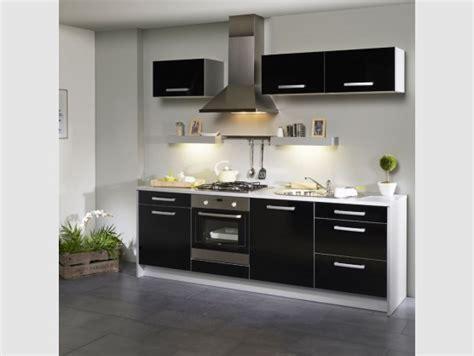cuisine encastrable pas cher meuble de cuisine noir pas cher