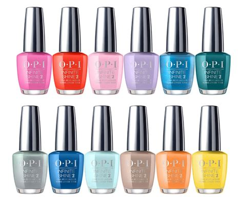 opi new colors opi presents the 2017 fiji collection news