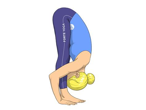 Standing Forward Bend Yoga Pose - Forte Yoga