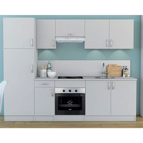 meuble cuisine melamine blanc meuble de cuisine blanc colonne 2 portes dya shopping fr