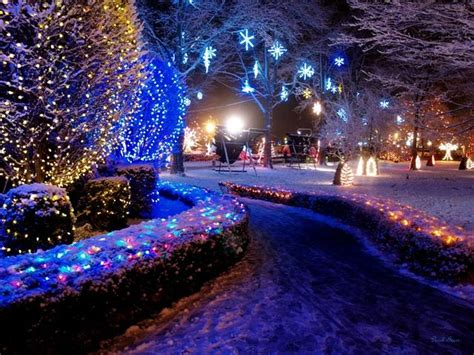 la salette shrine festival of lights by pc