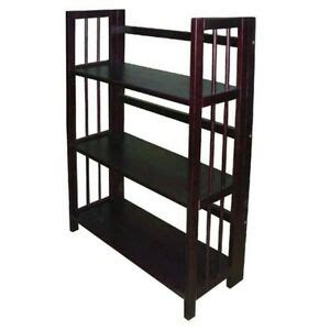 27 Wide Bookcase by Yu Shan 3 Tier Folding Stackable Bookcase 27 5 Wide