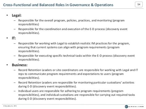 Planning Information Governance and Litigation Readiness