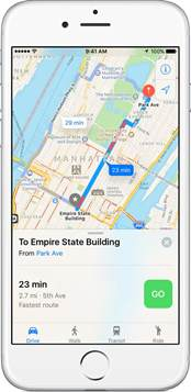 maps for iphone use maps on your iphone or ipod touch apple support