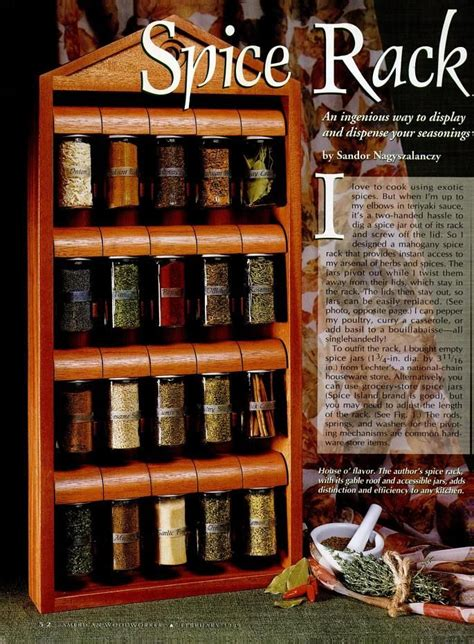 Woodworking Plans Spice Rack by 100 Best Images About Spice Rack Plans On