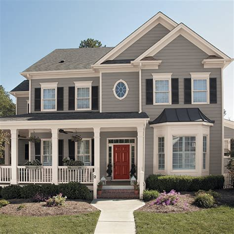 exterior paint color trends collections for diyers professional painters