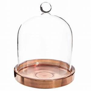 Cloche En Verre Maison Du Monde : cloche en verre h 13 cm copper maisons du monde ~ Melissatoandfro.com Idées de Décoration
