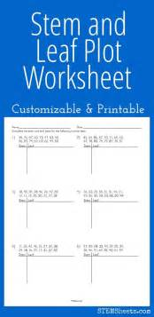 Two Inequalities Worksheet Answers Stem And Leaf Plot Worksheet Customizable And Printable Math Stem Resources