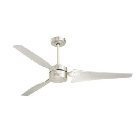 60 Inch Ceiling Fans Home Depot by Illumine Zephyr 60 In Outdoor Brushed Steel Ceiling Fan