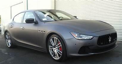 Maserati Matte Wrap Grey Wraps Custom Customvehiclewraps