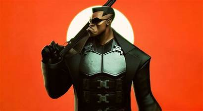 Blade Wesley Snipes Weapon Background Wall