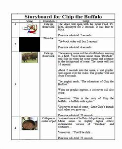 tv commercial script template - 7 commercial storyboard free sample example format